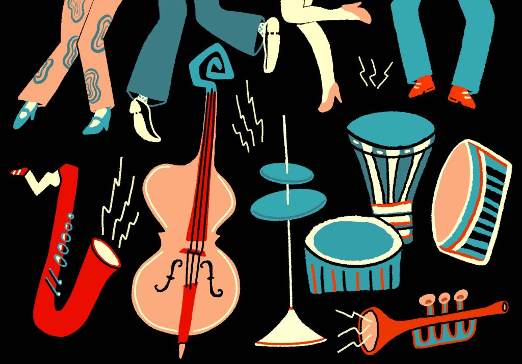jazz illustration Francesca Ponzini